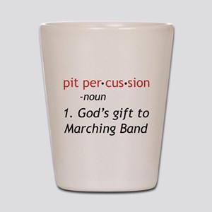 Pit Definition Shot Glass