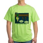 Hanging Around with Bats Green T-Shirt