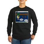 Hanging Around with Bats Long Sleeve Dark T-Shirt