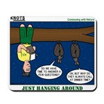 Hanging Around with Bats Mousepad