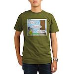 Scout Ranger Corps Organic Men's T-Shirt (dark)