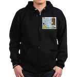 Scout Ranger Corps Zip Hoodie (dark)