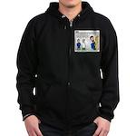 Home Repair Zip Hoodie (dark)