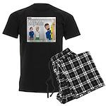 Home Repair Men's Dark Pajamas