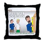 Home Repair Throw Pillow