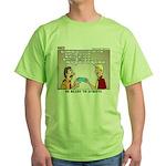 Blue Card Blues Green T-Shirt