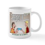 Blue Card Blues Mug