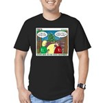 GPS Navigation Men's Fitted T-Shirt (dark)