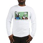 Skunk and Raccoon Snack Long Sleeve T-Shirt