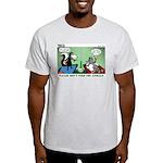 Skunk and Raccoon Snack Light T-Shirt