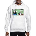 Skunk and Raccoon Snack Hooded Sweatshirt