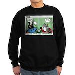Skunk and Raccoon Snack Sweatshirt (dark)