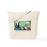 Skunk and Raccoon Snack Tote Bag
