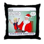 Scout Gear Throw Pillow