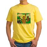 Bear Surprise Yellow T-Shirt