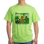 Bear Surprise Green T-Shirt