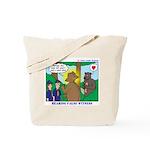 Bear Surprise Tote Bag