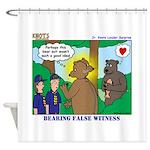 Bear Surprise Shower Curtain