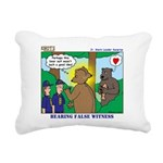 Bear Surprise Rectangular Canvas Pillow