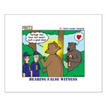 Bear Surprise Small Poster