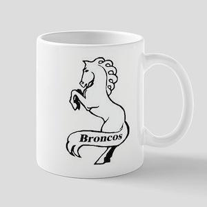 Kenwood High School Bronco Mug