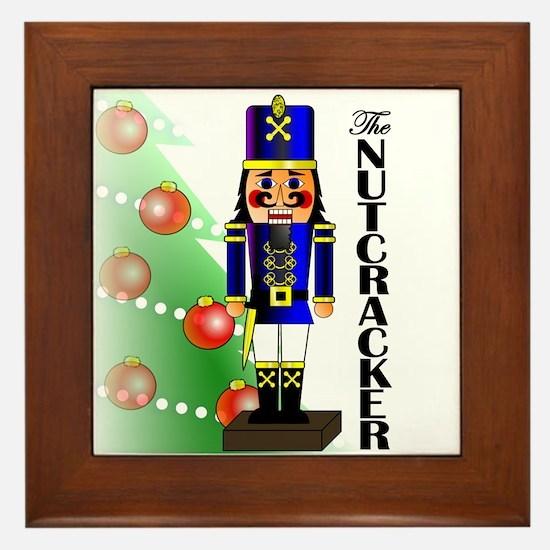 Nutcracker Ballet Framed Tile