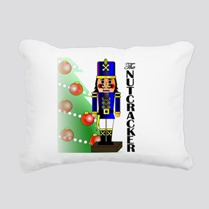 Nutcracker Ballet Rectangular Canvas Pillow