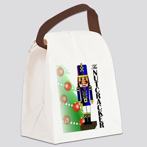 Nutcracker Ballet Canvas Lunch Bag