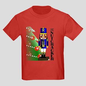 Nutcracker Ballet Kids Dark T-Shirt