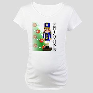Nutcracker Ballet Maternity T-Shirt