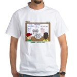 Camp Food White T-Shirt