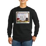 Camp Food Long Sleeve Dark T-Shirt