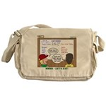 Camp Food Messenger Bag