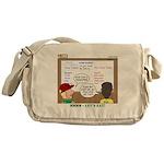 Camp Food Messenger Bag