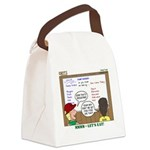 Camp Food Canvas Lunch Bag
