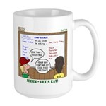 Camp Food Large Mug