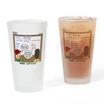 Camp Food Drinking Glass