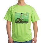 Bike Hike Green T-Shirt