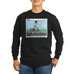Bike Hike Long Sleeve Dark T-Shirt