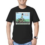 Bike Hike Men's Fitted T-Shirt (dark)