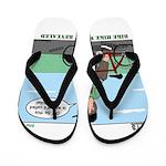 Bike Hike Flip Flops