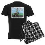 Bike Hike Men's Dark Pajamas