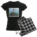 Bike Hike Women's Dark Pajamas