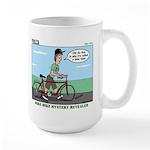 Bike Hike Large Mug