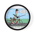 Bike Hike Wall Clock