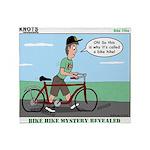 Bike Hike Throw Blanket