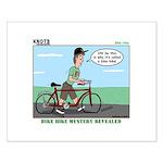 Bike Hike Small Poster