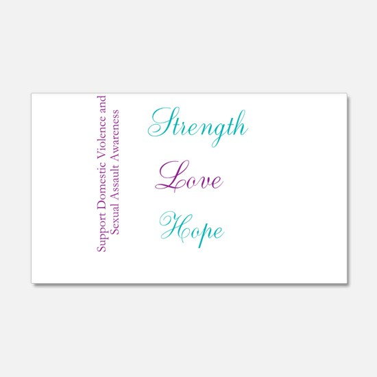 Strength Love Hope Wall Decal