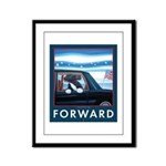 Forward with Bo, the first dog. Framed Panel Print