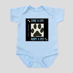 Save a Life, Adopt a Pet Infant Bodysuit